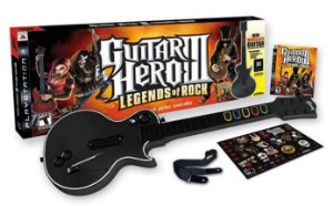 Guitar Hero III: Legends of Rock - Guitarra -  PS3 - Seminovo