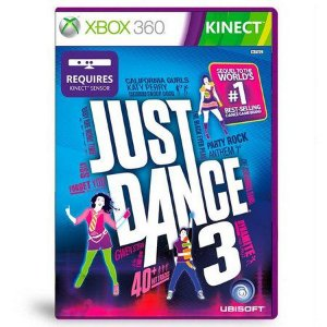 Usado: Jogo Just Dance 3 Xbox 360