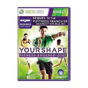 Usado: Jogo Your Shape Fitness Evolved 2012 Xbox 360