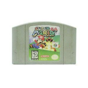 Jogo Super Mario 64 - Nintendo 64 - Seminovo