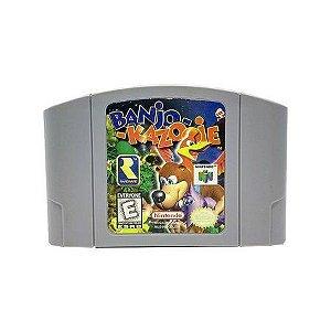 Jogo Banjo - Kazooie - Nintendo 64 - Seminovo
