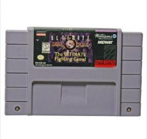 Jogo Ultimate Mortal Kombat 3  - SNES - Seminovo