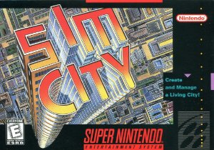 Jogo Sim City - SNES - Seminovo