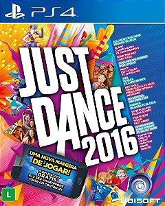 Jogo Just Dance 2016 - PS4 - Seminovo