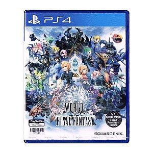 Jogo World of Final Fantasy Edição de Lançamento- PS4 - Seminovo