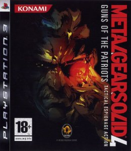 Jogo Metal Gear Solid 4: Guns of Patriots Tactical Espionage Action - PS3 - Seminovo