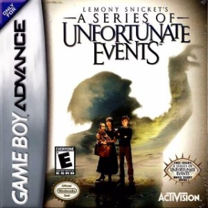 Jogo A Serie Of Unfortunate Events - Game Boy Advanced - Seminovo