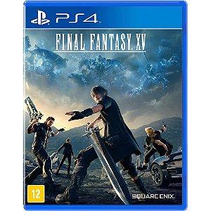 Final Fantasy XV - PS4 - Seminovo