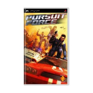 Jogo Pursuit Force - PSP - Seminovo
