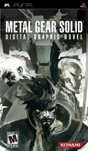 Jogo Metal Gear Solid Digital Graphic Novel - PSP - Seminovo