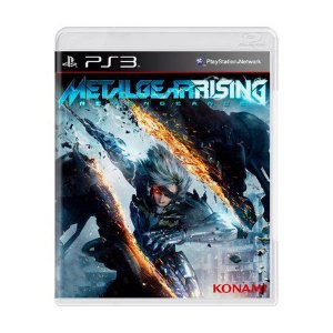 Jogo Metal Gear Rising - Revengeance - PS3 - Seminovo
