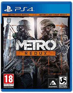 Jogo Metro Redux - PS4 - Seminovo