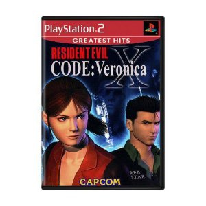 Jogo Resident Evil Code: Veronica X -PS2 - Seminovo