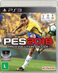 Jogo Pro Evolution Soccer 2018 - PS3 - Seminovo