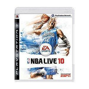 Jogo NBA Live 10 - PS3 - Seminovo