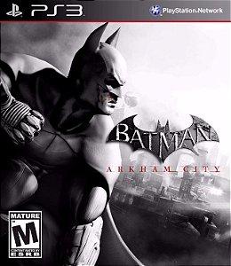 Usado: Jogo Batman Arkham City- PS3