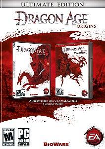 Usado: Jogo Dragon Age: Origins Ultimate Edition PS3