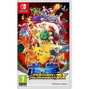 Usado: Jogo Pokkén Tournament DX - Nintendo Switch