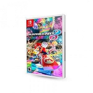 Usado: Jogo Mario Kart 8 Deluxe - Nintendo Switch