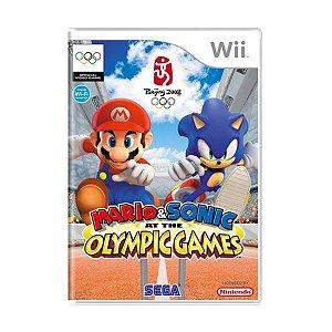 Usado: Jogo Mario & Sonic Olympic Games Beijing 2008 - Wii
