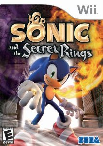 Usado: Jogo Sonic and The Secret Rings - Wii