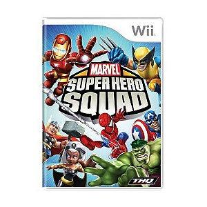 Usado: Jogo Marvel Super Hero Squad - Wii