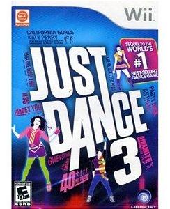 Usado: Jogo Just Dance 3 - Wii