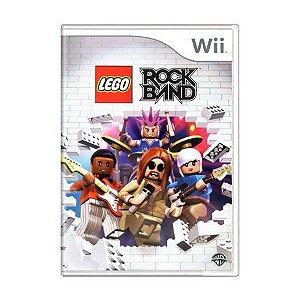 Usado: Jogo Lego Rock Band - Wii