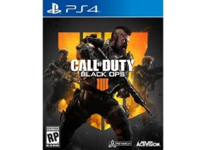 Usado: Jogo Call of Duty: Black Ops IIII - PS4