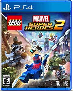 Usado: Jogo Lego Marvel Super Heroes 2 - PS4