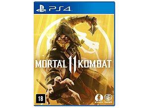 Usado: Jogo Mortal Kombat 11 - PS4