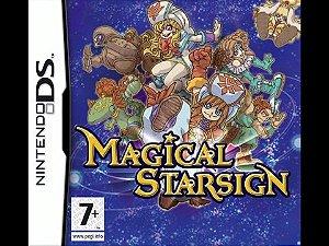 Usado: Jogo Magical Starsign - Nintendo DS