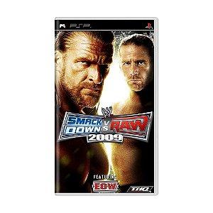 Usado: Jogo WWE Smackdown VS Raw 2009 - PSP