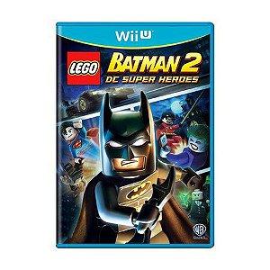 Usado: Jogo Lego Batman 2 DC Super Heroes - Wii U