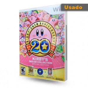 Usado: Jogo Kirby's Dream Collection - Special Edition - Wii
