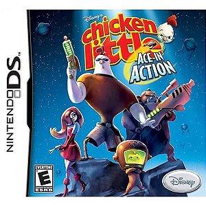 Usado: Jogo Chicken Little - Ace in Action (sem estojo) - Nintendo DS