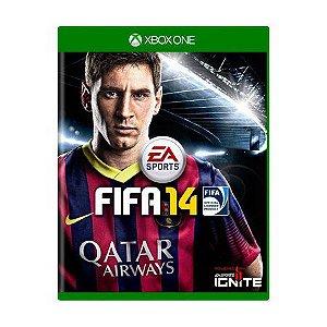 Usado: Jogo Fifa 14 - Xbox One