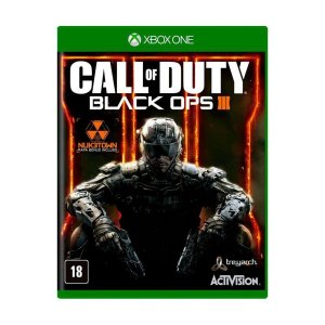 Usado: Jogo Call of Duty Black Ops III - Xbox One