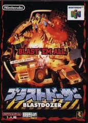 Usado: Jogo Blast Dozer ( Japonês ) - Nintendo 64