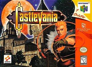 Usado: Jogo Castlevania 64 - Dracula Apocalypse ( Japonês ) - Nintendo 64