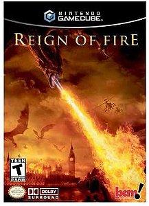 Usado: Jogo Reign Of Fire - Game Cube