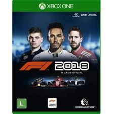 Usado: Jogo F1 2018 - Xbox One