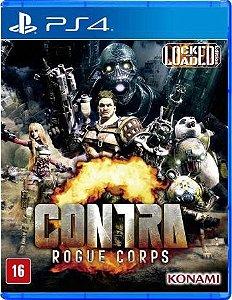 Usado: Jogo Contra: Rogue Corps  - PS4
