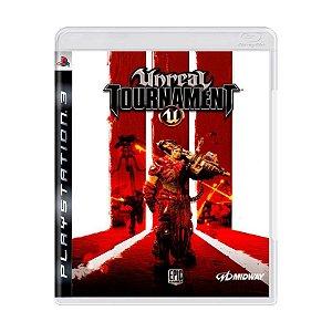 Usado: Jogo Unreal Tournament (Japonês) - PS3
