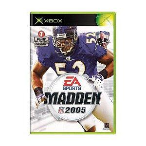 Usado: Jogo Madden NFL 2005 - Xbox