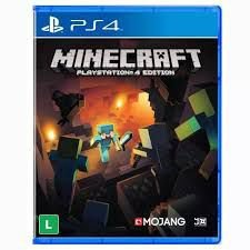 Usado: Jogo Minecraft Playstation 4 Edition - PS4