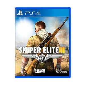Usado: Jogo Sniper Elite III - PS4