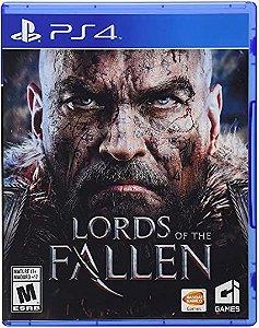 Usado: Jogo Lords Of The Fallen - PS4