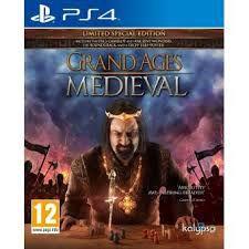 Usado: Jogo Grand Ages Medieval - Edição Especial - PS4