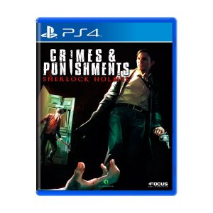 Usado: Jogo Sherlock Holmes: Crimes & Punishments  - PS4